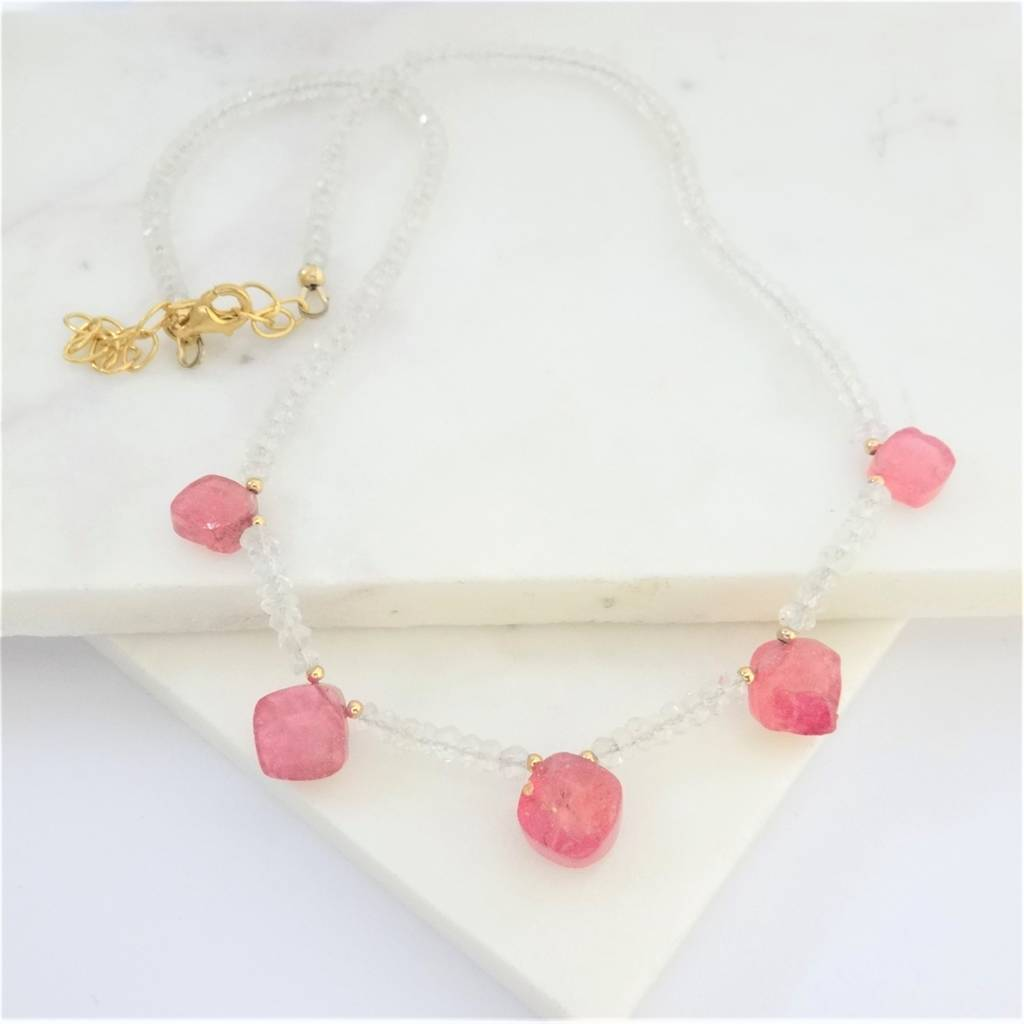 pink michael mark ombre diamond ombr format yellow necklace gold sapphire