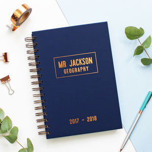 Teacher's Mid Year Or Academic Diary - gifts for teachers