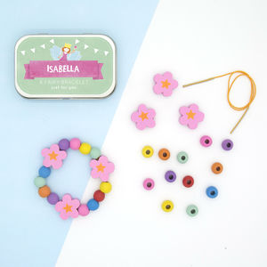 Personalised Fairy Bracelet Gift Kit - wedding day activities