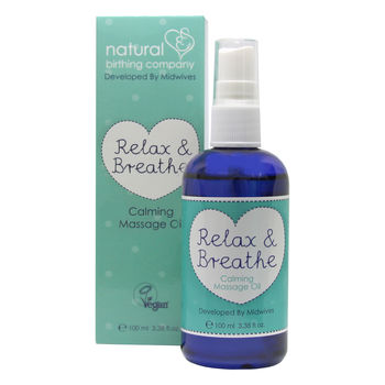 Calming Massage Oil 'Relax And Breathe'