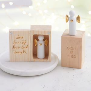 Personalised 'Angel To Go' - christening gifts