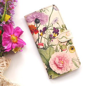 Leather Case iPhone Samsung Galaxy English Summer