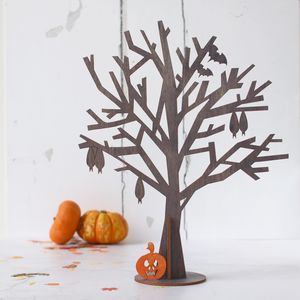 Halloween Tree - table decorations