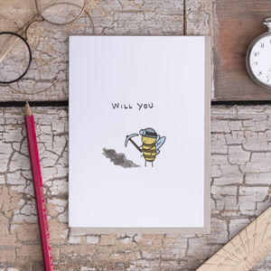 'Will You Bee Mine' Card