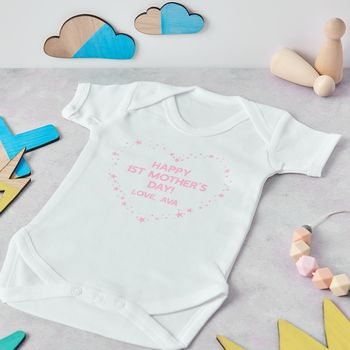 First Mothers Day baby outfit