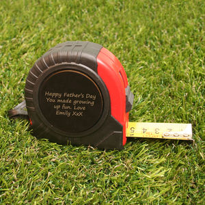 Personalised Tape Measure - home decorating