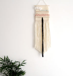 Stripes Woven Wall Hanging