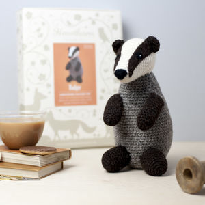 Badger Crochet Craft Kit