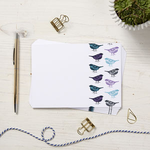 Bird Note Cards - what's new