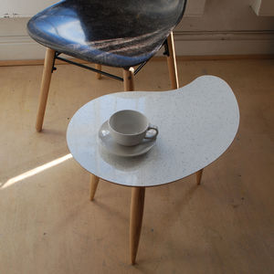 Sparkled Top Comma Table - furniture