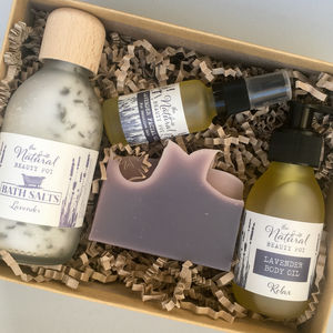 Mums Lavender Organic Pamper Gift Box - view all new