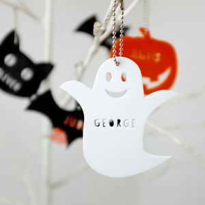 Personalised Acrylic Halloween Decorations - decoration