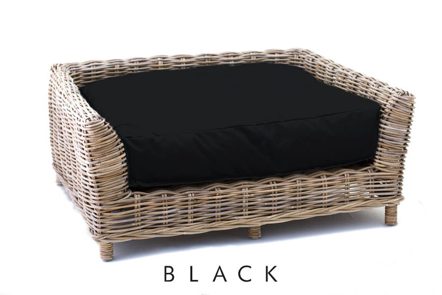 Rattan Dog Bed By Eaton Hampers Amp Basketware