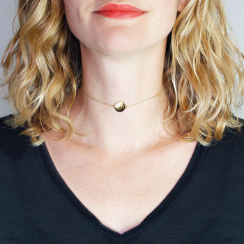 Zodiac Constellation Diamond Choker Necklace