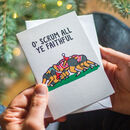 Funny Rugby Christmas Card