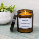 Seashore Pharmacy Jar Soy Candle