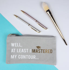 'Mastered My Contour' Make Up Bag