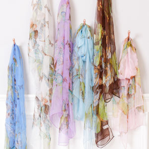 French Chic Silk Butterfly Scarf - our top summer scarves