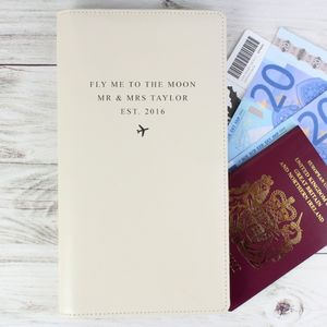 Personalised Any Message Passport Holder