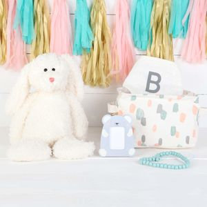 Baby Bunny Rabbit Gift Set And Personalised Bib - new in baby & child