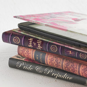 Kindle Case Book Covers For eReader Or Tablet - gifts for friends