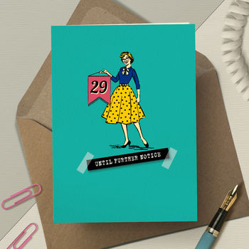 Funny 30th birthday cards for women