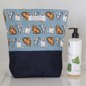 Cats Wash Bag