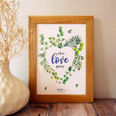 Where Love Grows Personalised Print