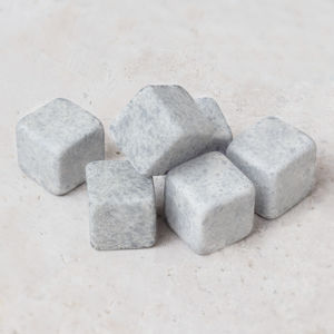 Carlos Soapstone Ice Cubes