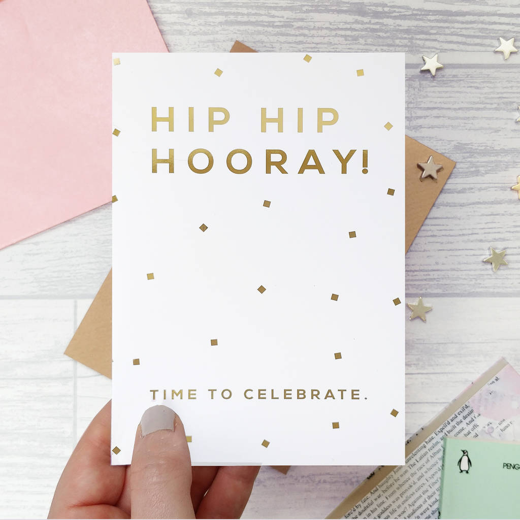 s celebrate foiled card - HD 1024×1024
