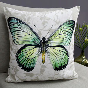 Swallowtail Butterfly Cushion - cushions
