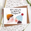 You Are My Absolute Favourite Illustrated Love Card