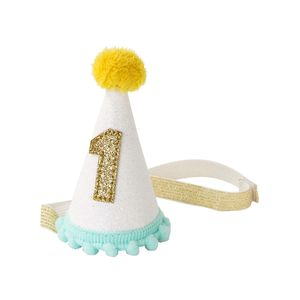 Glitter 1st Birthday Party Hat
