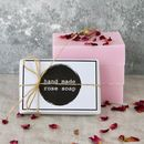 Handmade Rose Soap Bar