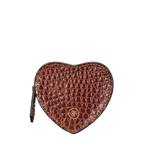 Luxury Crocodile Leather Coin Purse 'Mirabella Croco'