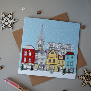 Norwich Christmas Cards Pack Of Five - cards