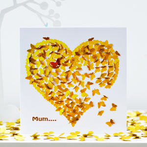 Mum Heart Of Gold Card - shop by category