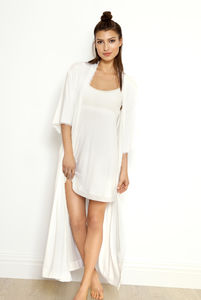 Samantha Jersey Dressing Gown