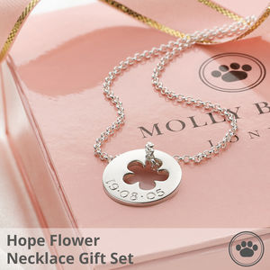 Hope Collection Flower Gift Set - wedding thank you gifts
