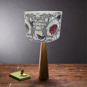 Sleeping Beauty Fairytale Lampshade - bedroom