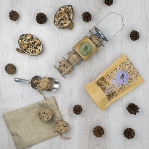 Fat Ball Bird Seed Gift Box - bird feeders