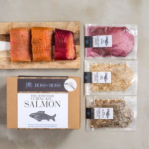 Make Your Own Cured Salmon Kit Gift Of The Year 2017 - original gifts for him