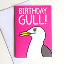 Seagull Birthday Girl Card