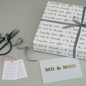 Luxury Wedding Wrapping Paper Bundle