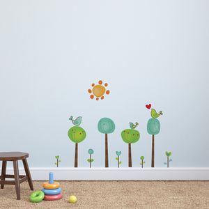 Childrens Bird Tree Wall Stickers - shop by price