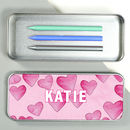 Personalised Cupid Pencil Case