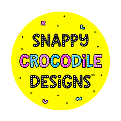 Snappy Crocodile Designs New Logo