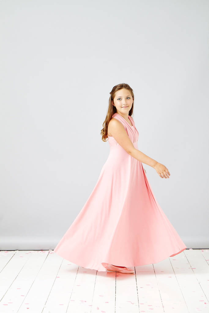 74df5373846b7 junior bridesmaid multi way maxi dress by in one clothing ...