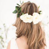 Rose And Eucalyptus Bridal Crown - accessories