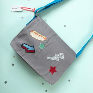 Hot Dog Pop Patch Bag - bags, purses & wallets